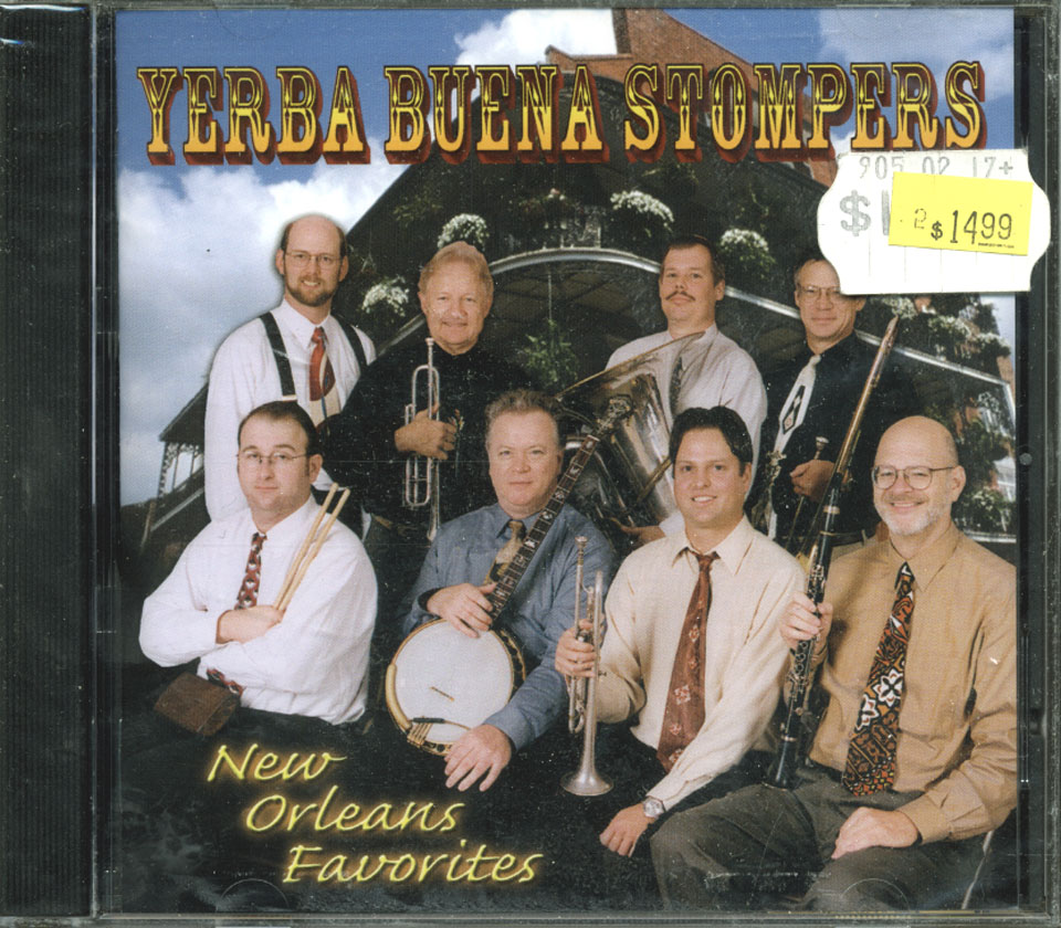 Yerba Buena Stompers CD