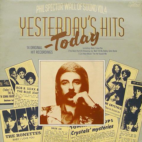 "Yesterday's Hits Today Vinyl 12"" (Used)"