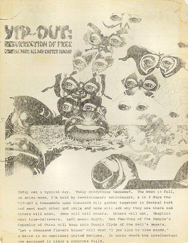 Yip-out: Resurrection of Free Handbill