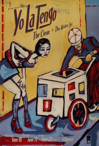 Yo La Tengo Poster
