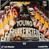 Young Frankenstein Laserdisc