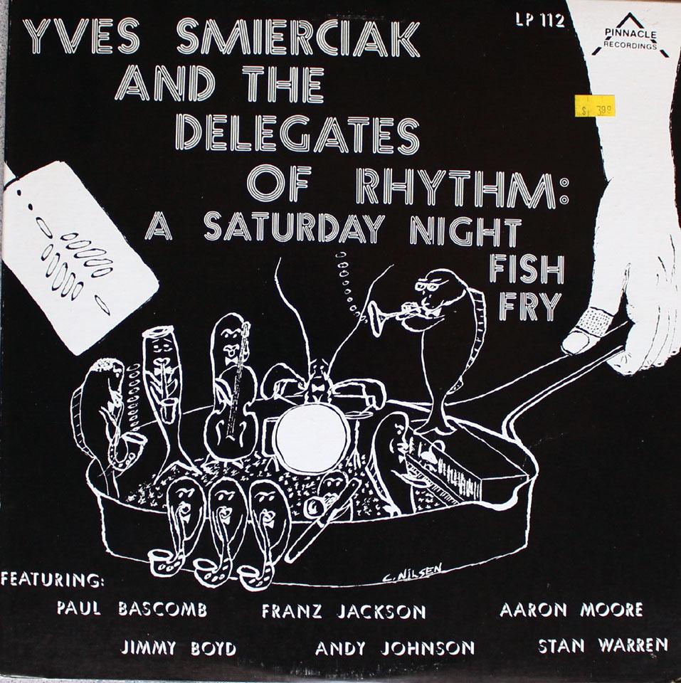 """Yves Smerciak And The Delegates Of Rhythm Vinyl 12"""" (New)"""