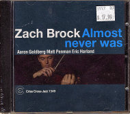 Zach Brock CD