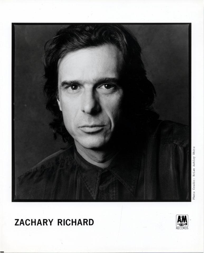 Zachary Richard Promo Print