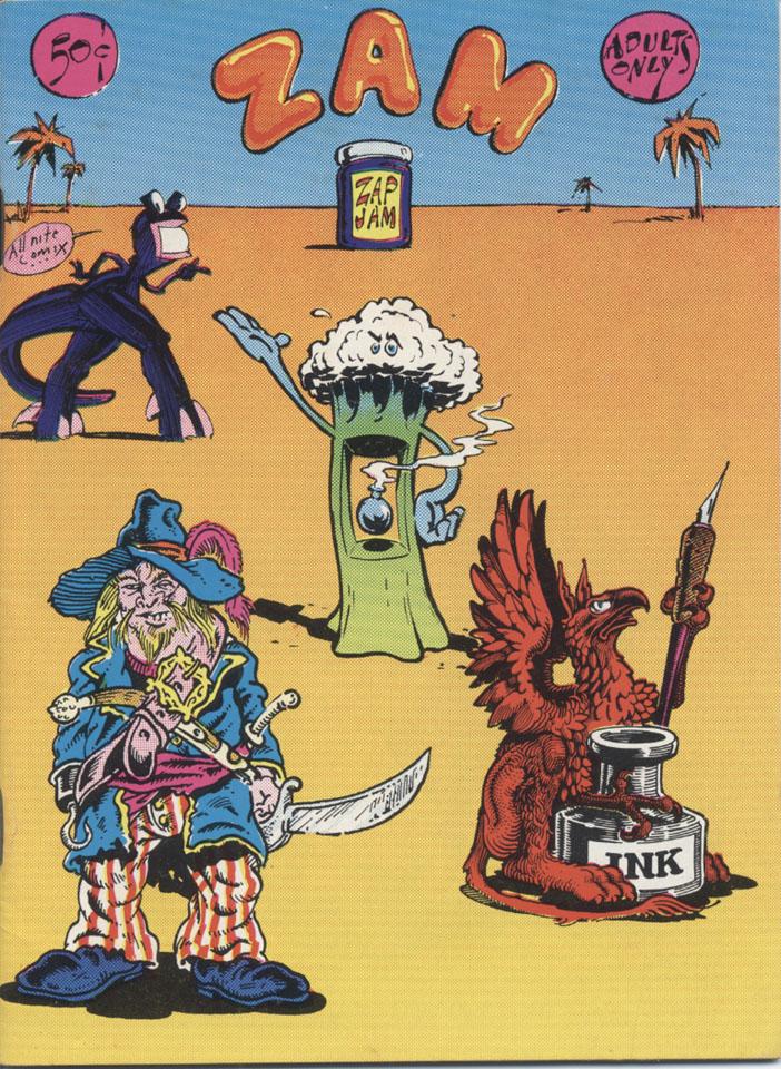 Zam-Zap Jam Comic Book