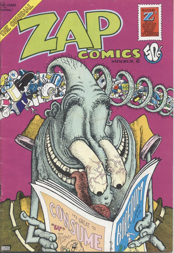 Zap Comix Issue 6 Comic Book