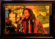 Ziggy Marley Vintage Print