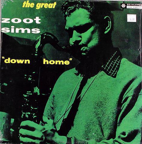 """Zoot Sims Vinyl 12"""" (New)"""