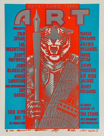 Zulu Spear Handbill